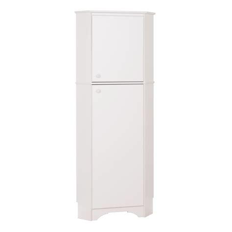 white 2 door storage cabinet prepac elite tall 2 door corner storage cabinet white ebay