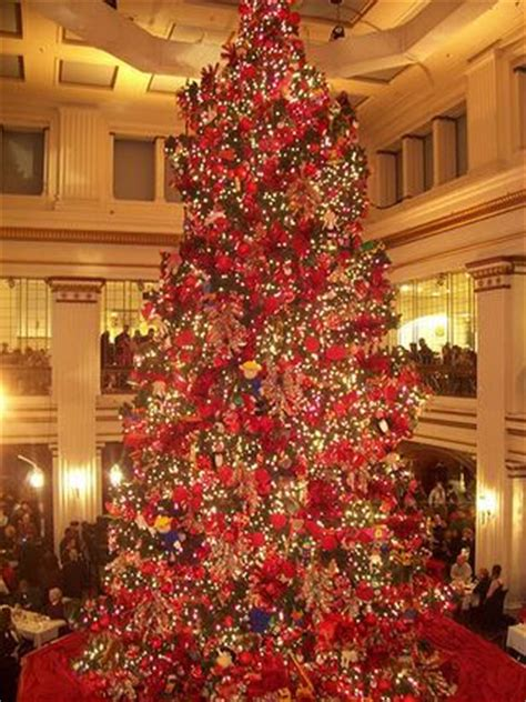 tree chicago marshall fields illinois recipes
