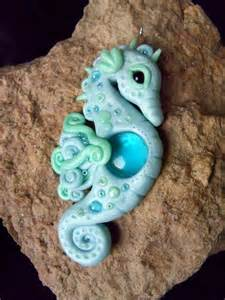 Polymer Clay Seahorse
