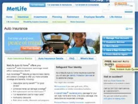 Although it offers comparable coverage to most other car insurance metlife auto seems to have mixed reviews even from national names in the industry. MetLife Auto Insurance - Reviews, Customer Ratings ...