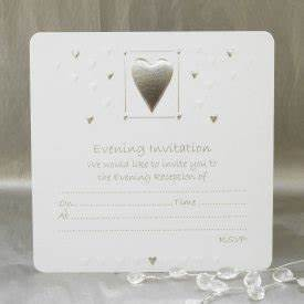 luxury wedding evening invitations pack of 10 white With packs of wedding evening invitations