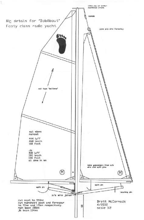 materials list hull panels interior layout sail rig