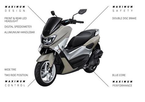 Nmax 2018 Black Non Abs by Harga Dan Spesifikasi Yamaha Nmax Abs Dan Non Abs Terbaru 2018