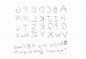 new does writing letters backwards indicate dyslexia letter With dyslexia alphabet letters