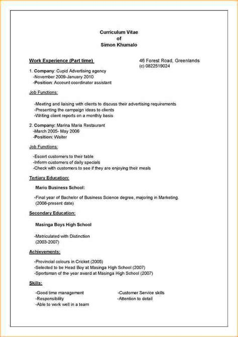 How To Write Curriculum Vitae Exles by Top Tips On How To Write Your Curriculum Vitae Cv