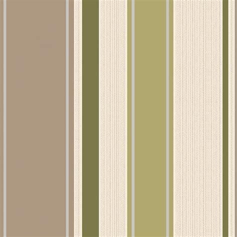 Holden Decor Rico Stripe Wallpaper Lime, Cream (75622