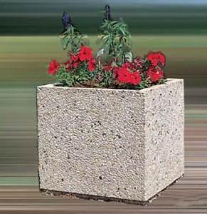 Bac A Fleur En Beton Rectangulaire : ht ~ Edinachiropracticcenter.com Idées de Décoration