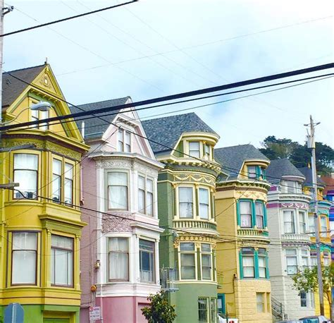 house house in san francisco vibrant photos of san francisco s colored houses