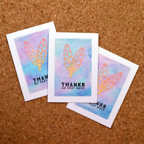 Maybe you would like to learn more about one of these? MossyMade: Quick Watercolor Cards