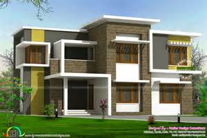 plans home 2300 sq ft box type home kerala home design and floor plans