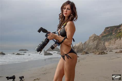 monic hendrickx bikini brunette swimsuit bikini model shooting stills nikon d800