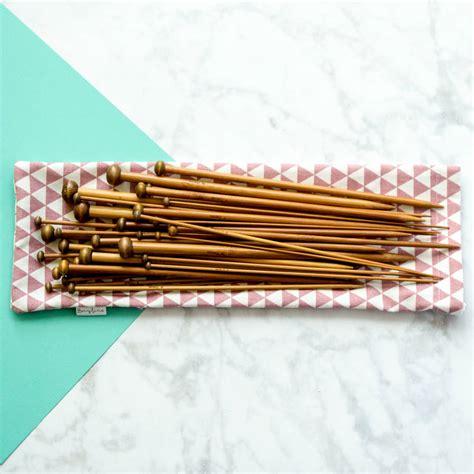 Full Set Of Bamboo Knitting Needles By Berylune