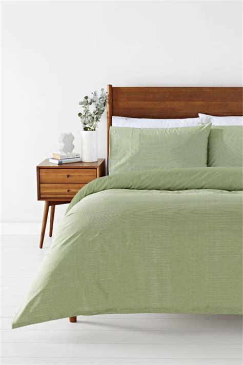 Soren Pin Stripe 250tc Cotton Quilt Cover Set Qb Harris