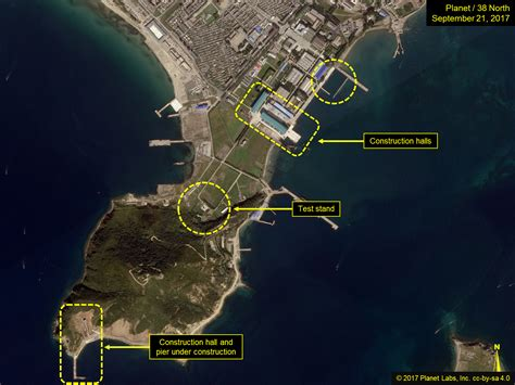 sinpo south shipyard slbm test  imminent unknown