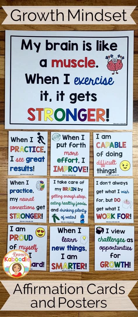 Best 25+ Growth Mindset Posters Ideas On Pinterest  Bulletin Board Growth Mindset, Growth