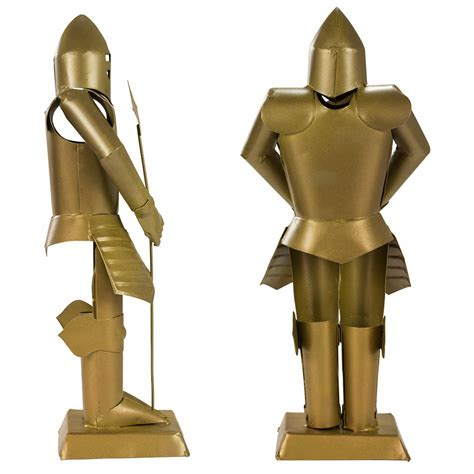 Decorative Suit Of Armor by Suit Of Armor Medieval Knight Golden Finish Decorative