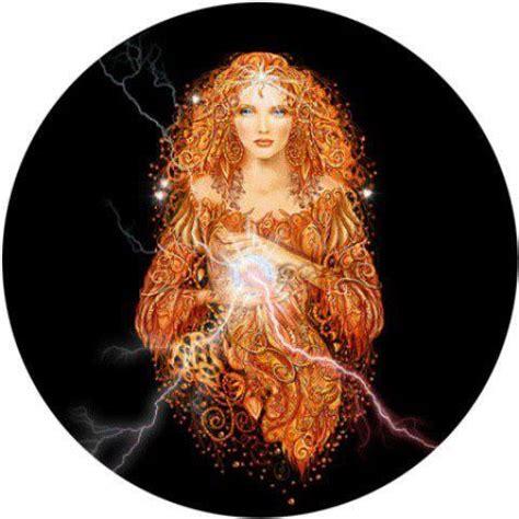 Brigid, Celtic goddess of Fire   Celtic goddess, Mystic ...