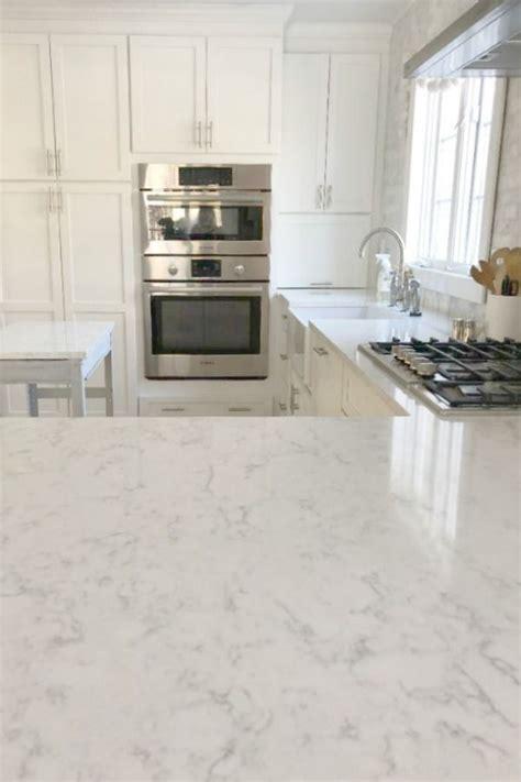 minuet viatera quartz countertop   classic white