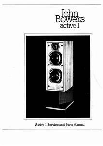 B U0026w Active-1 Bowers  U0026 Wilkins   Service Manual