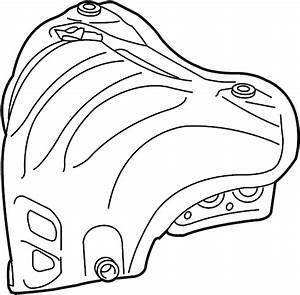 Toyota Camry Exhaust Heat Shield  Exhaust Manifold Heat Shield  Heat Shield  Manifold