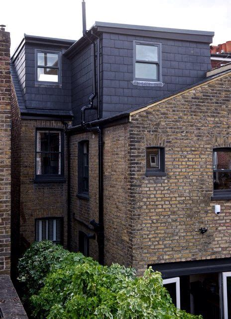 Dormer Roof Extension by L Shaped Dormer Roof Extension On Terraced House Black
