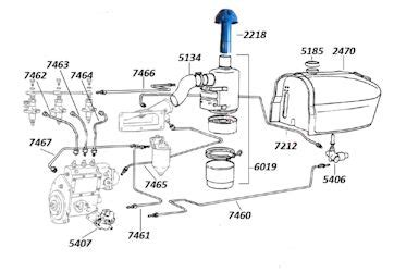 Perkin Fuel Injector Diagram by Fuel System
