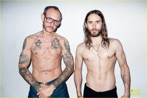 Just Jared Action 10 Story Shares Jared Leto Show Hippie For New Terry Richardson Photo Shoot