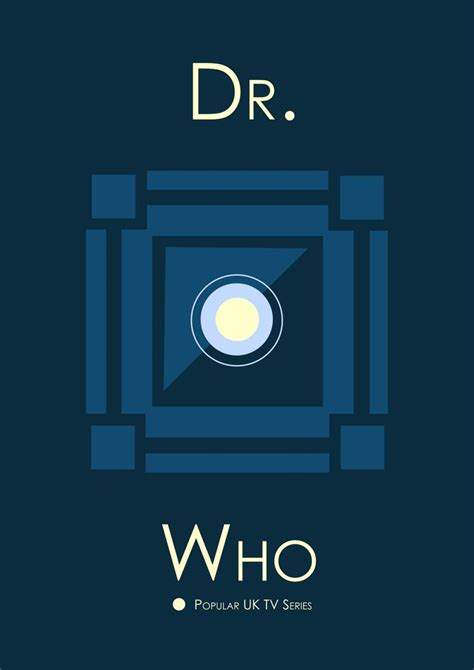 minimalist tv dr who minimalist poster tv serie show doctor who pinterest