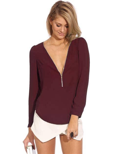 blouse vs shirt aliexpress com buy sale blouses zip shirt