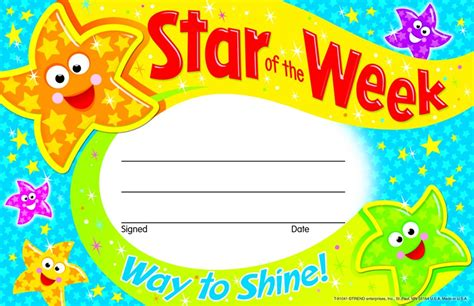 star   weekway  shine recognition awards