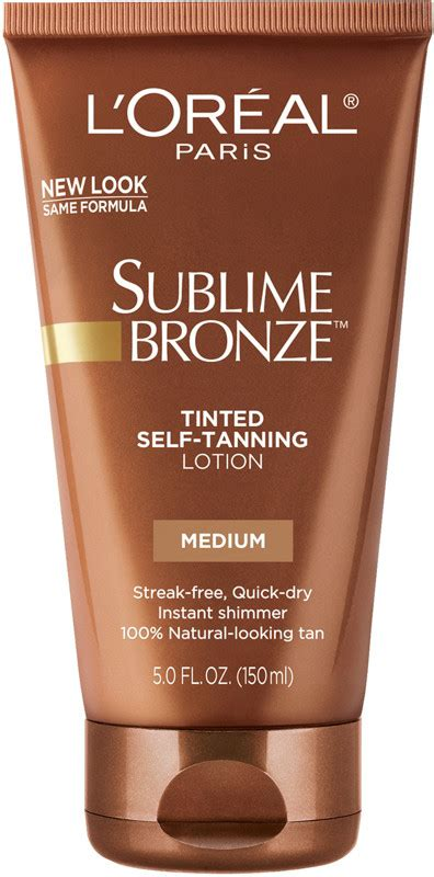 loreal sublime bronze tinted  tanning lotion ulta