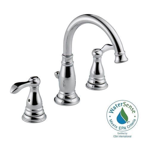 delta widespread bathroom faucet delta porter 8 in widespread 2 handle high arc bathroom