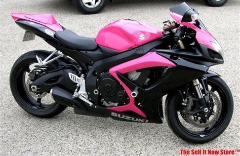 Rare Factory Pink 2007 Suzuki Gsx-r600 Gsx-r 600
