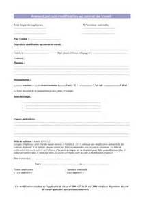 contrat de mariage aprã s mariage modele avenant contrat de travail auxiliaire de vie document