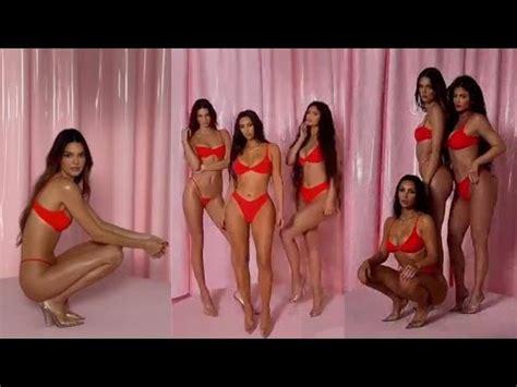 Kim Kardashian, Kendall & Kylie Jenner Shooting for Skims ...