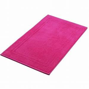 tapis de bain rose indien 50x80 cm 900gr m2 la compagnie With tapis de bain rose