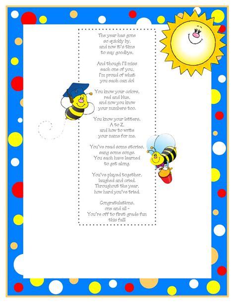 kindergarten graduation poem 2 classroom kindergarten 808 | 512e69c034546b798756d1ed641e4564