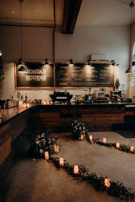 Coffee & tea shops , restaurants , coffee shop. An Intimate New Years Eve Coffee Shop Elopement at Boxcar Social in Toronto - Daring Wanderer