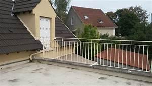 Garde Corp Terrasse : garde corps terrasse acier pour mme v champigny sur marne ~ Melissatoandfro.com Idées de Décoration