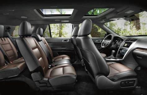 Model 2018 ford Explorer Platinum Interior ? 2018 2019