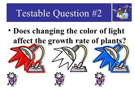 does the color of light affect plant growth basic variables ppt