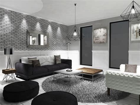 d馗oration chambre noir et blanc ophrey com deco salon noir blanc argente prélèvement d 39 échantillons et une bonne idée de concevoir votre espace maison