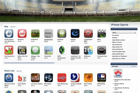 great sports apps  iphone  ipad