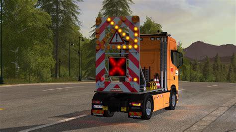 traffic safety trailer vsa   lighting system