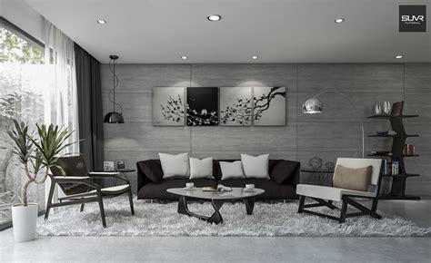 Sketchup Living Room Model by Free 3d Models Living Room Modern Concrete Living Room