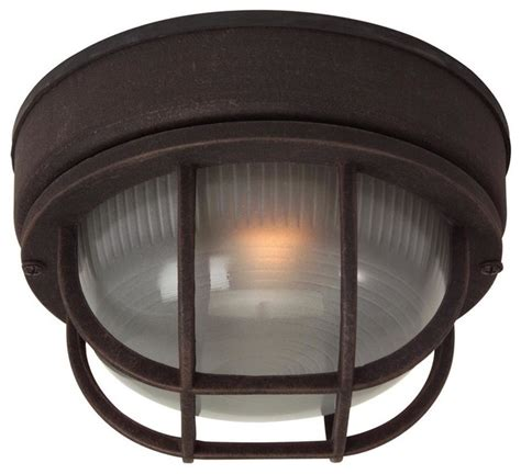 small cast ceiling mount outdoor light
