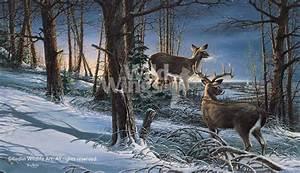 Small Calendars Night Watch Whitetail Deer Elite Print Wild Wings