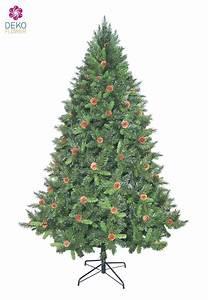 Weihnachtsbaum Auf Rechnung : weihnachtsbaum mixed pine 240 cm in gr n und echten tannenzapfen ~ Themetempest.com Abrechnung