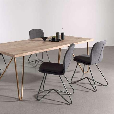 chaise salle à manger design chaise design de salle à manger avec coque en tissu