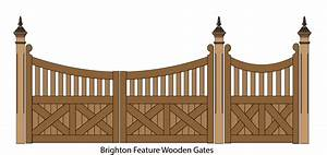 Wooden Gates, Picket Gates and Timber gate design